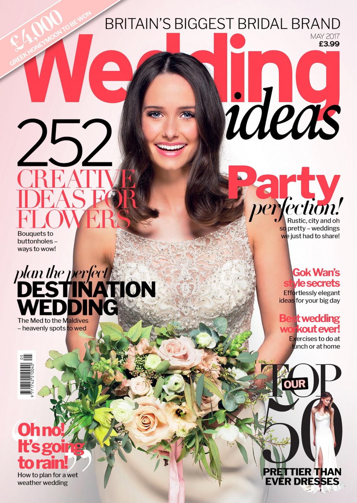 Wedding Ideas Magazine May 2017